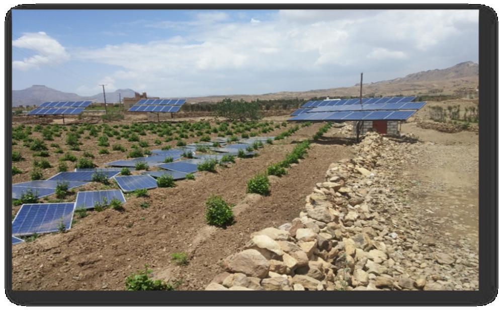 المضخات الشمسية